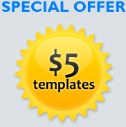 $5 osCommerce templates button